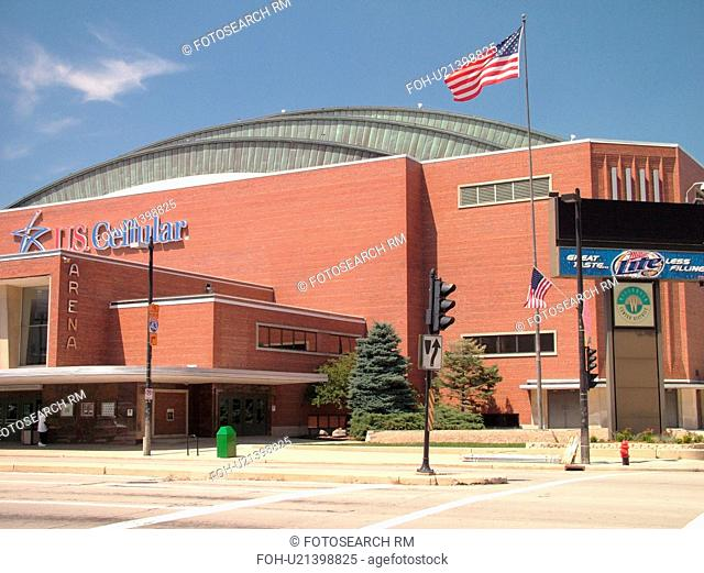 Milwaukee, WI, Wisconsin, Downtown, US Cellular Arena, indoor soccer, Milwaukee Wave