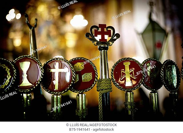 religious symbolism of Easter in Spain