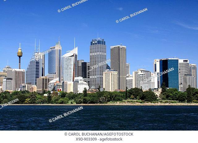 Sydney skyline and harbour