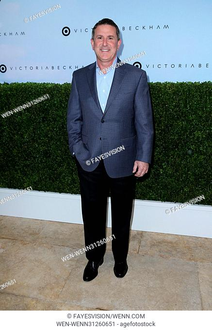 Victoria Beckham for Target Celebrates their Line Launch With English Garden-Themed Party Featuring: Brian Cornell Where: Los Angeles, California