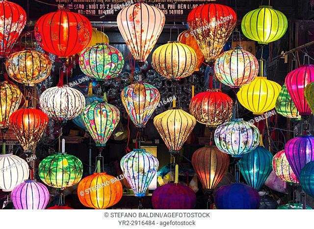 Traditional silk lanterns, Hoi An, Vietnam