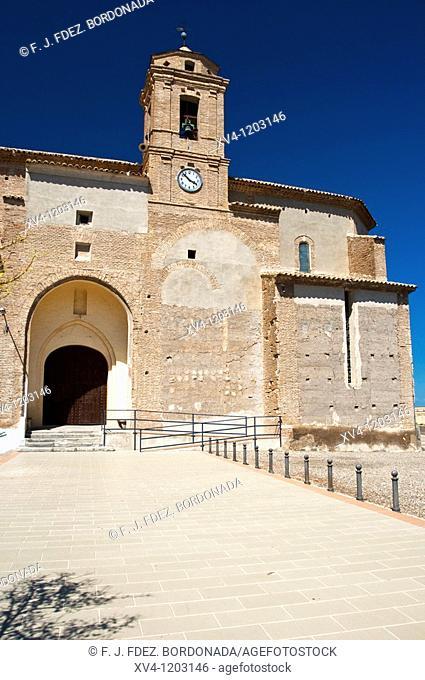 La Almolda Nuestra Señora de la Luz Church  Zaragoza  Spain