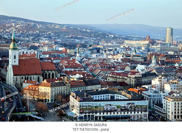 Cityscape of Bratislava