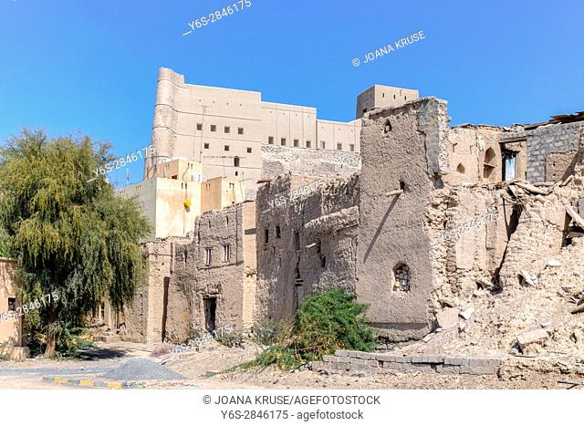 Bahla Fort, Oman, Middle East, Asia