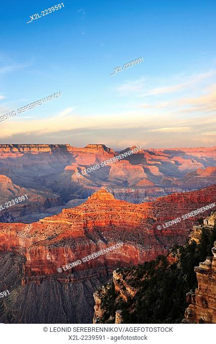 Grand Canyon South Rim. Arizona, USA