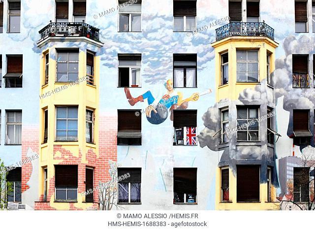 Germany, Berlin, Kreuzberg district, Tommy Weisbecker Haus
