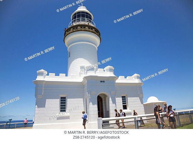 Byron Bay lighthouse,New South Wales,Australia