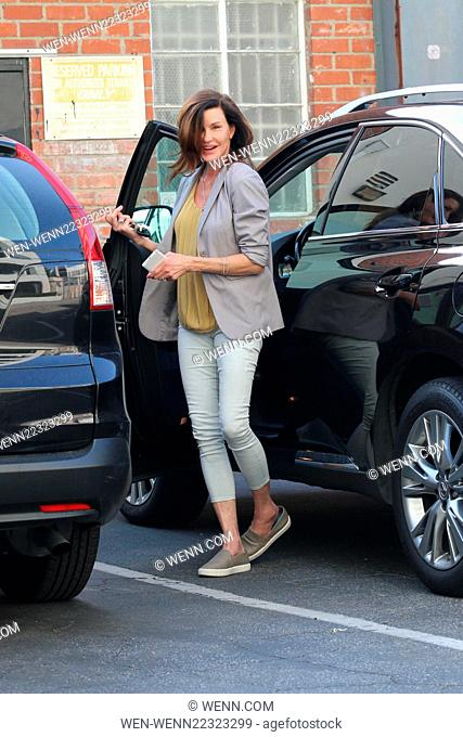 Make up free Janice Dickinson out and about shopping in Beverly Hills Featuring: Janice Dickinson Where: Los Angeles, California