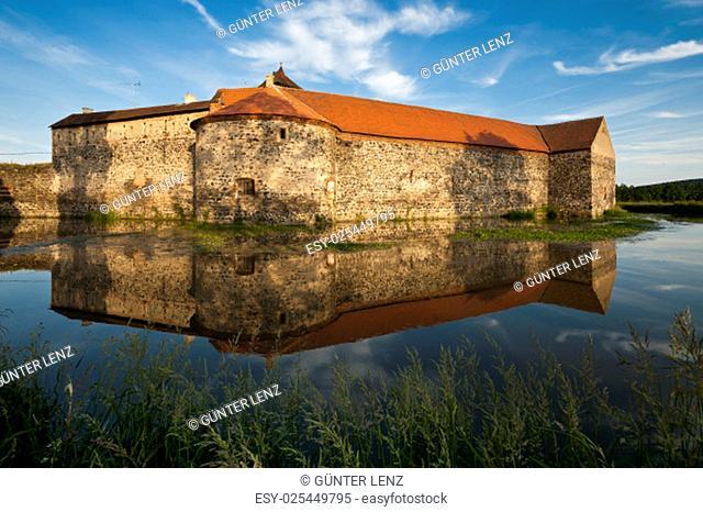 water castle,castle svihov,bohemia,czech republic / castle svihov,bohemia,czech republic