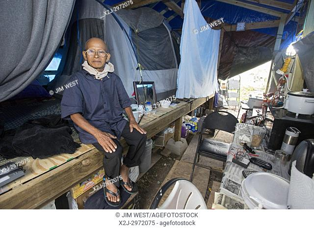 Rosharon, Texas - 3 November 2017 - A community of Cambodian immigrant farmers is still living in near Third World conditions, with little outside assistance