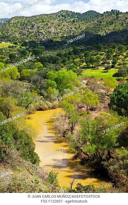 Jándula River, Sierra de Andújar Natural Park, Jaen province, Andalusia, Spain
