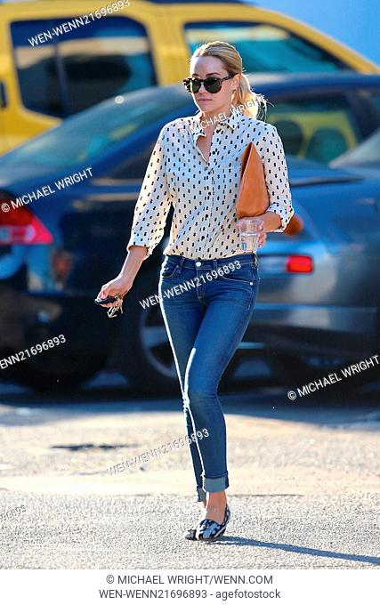 139f7bdb37 Lauren Conrad leaving Kate Somerville skin care in Los Angeles Featuring: Lauren  Conrad Where: