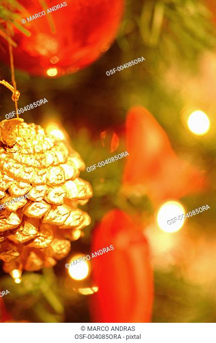 christmas decoration objects for tree