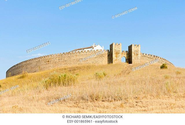 Arraiolos Castle, Alentejo, Portugal