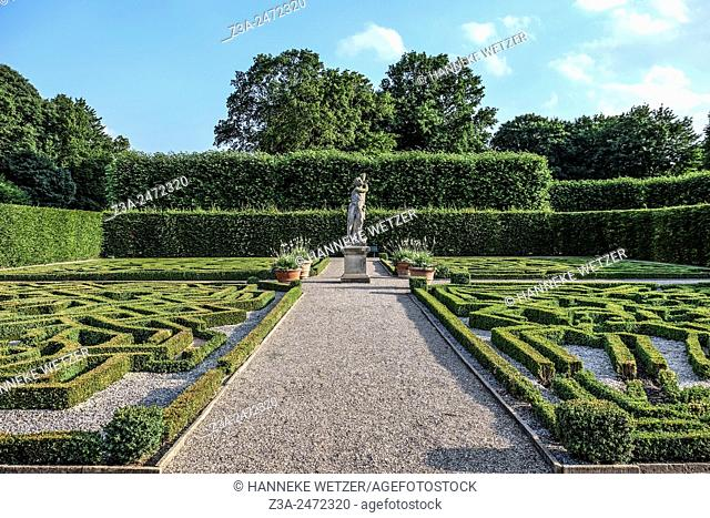 A labyrinth in The Herrenhausen Gardens, Hanover, Germany