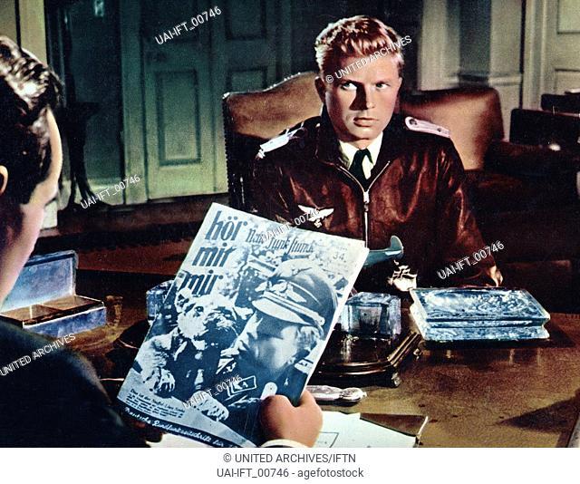 The One That Got Away, Großbritannien 1957, aka: Einer kam durch, Regie: Roy Ward Baker, Darsteller: Hardy Krüger