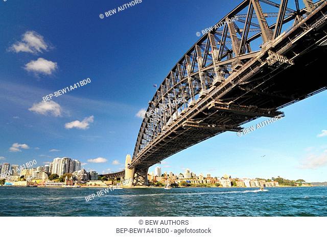 Australia, Sydney, New South Wales, Harbour Bridge