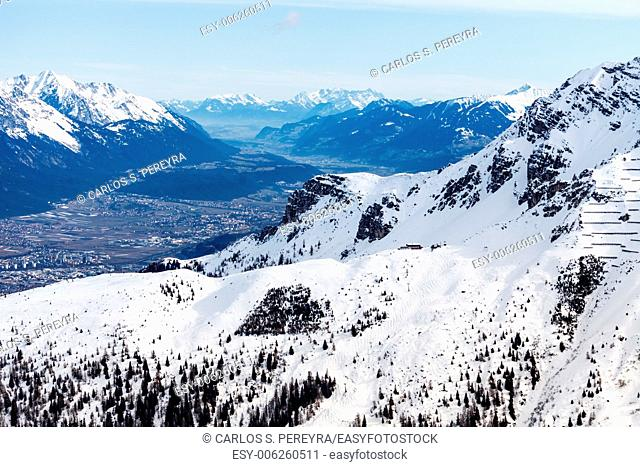 View of Innsbruck, Tyrol, Austria, Europe
