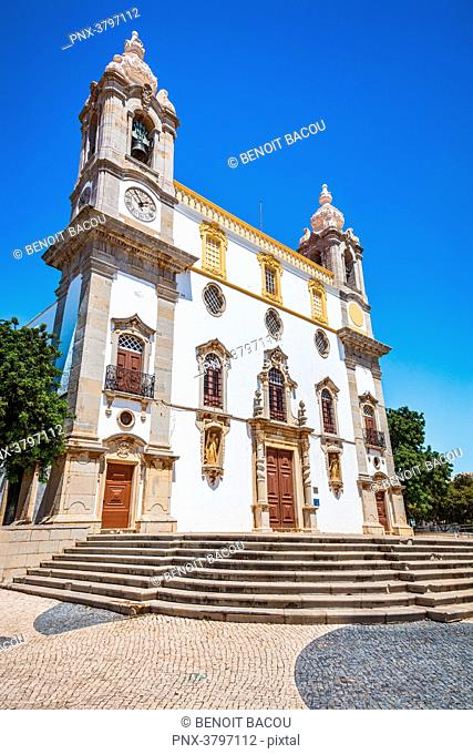 Carmel Church in Faro, city of Faro, Algarve region, Portugal