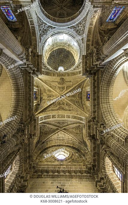 The cathedral in Jerez de la Frontera, Cadiz province, Andalucia, Spain