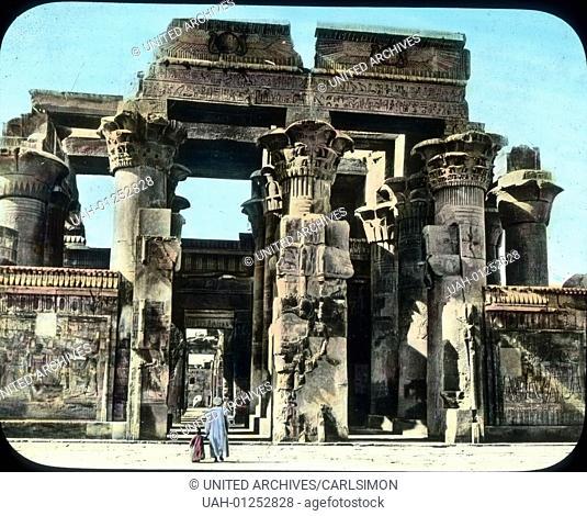 Ehe wir nach Kairo zurvºckkehren, besuchen wir noch den weniger bekannten Ombos-Tempel. Er kvºndet von einer Zeit, in der die sonst strenge v§gyptische Kunst zu...