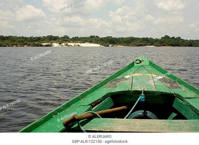 Landscape, Cuieiras River, Manaus, Amazônia, Amazonas, Brazil