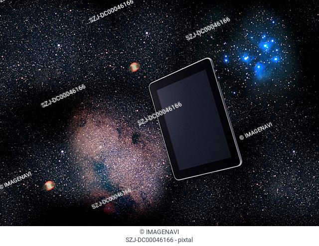 Tablet PC and galaxy