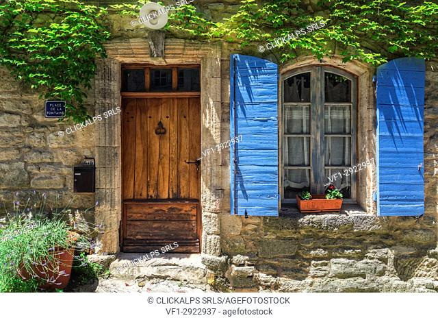 Provence, Southern France, France. A typical Provencal House