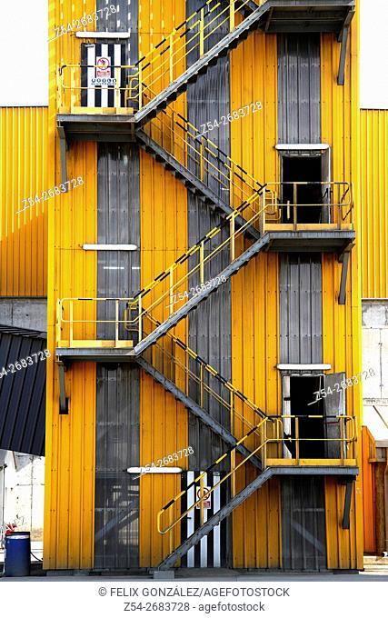 Industrial Unit at Aviles harbor, Asturias, Spain