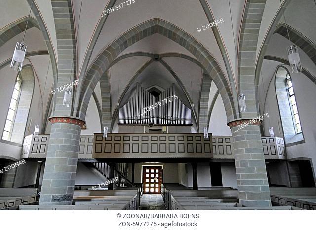 organ, St Simon and Judas Thaddaeus, church, Bad Sassendorf, Germany, Europe, Orgel, St Simon und Judas Thaddaeus, Kirche, Bad Sassendorf, Deutschland, Europa