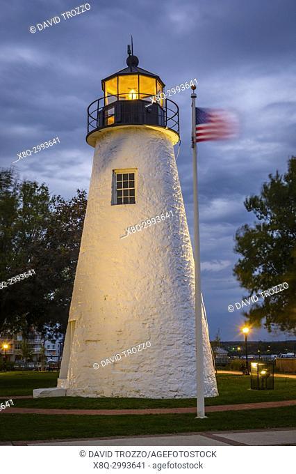 Concord Point Lighthouse, Harve de Grace, Maryland