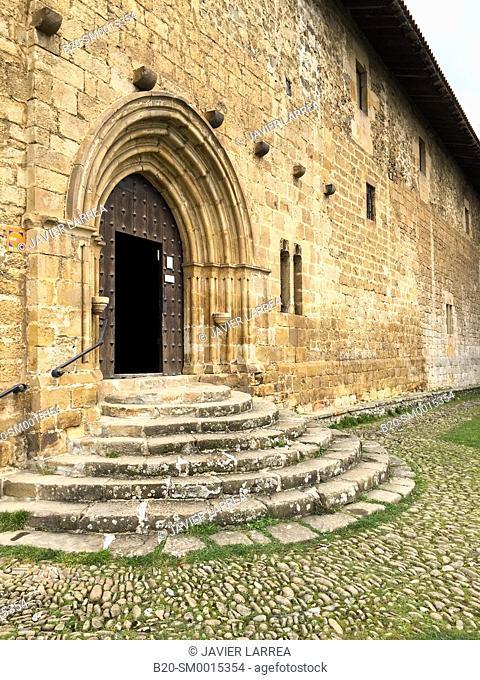Santa Maria de la Antigua chapel. Zumárraga. Gipuzkoa. Basque Country. Spain