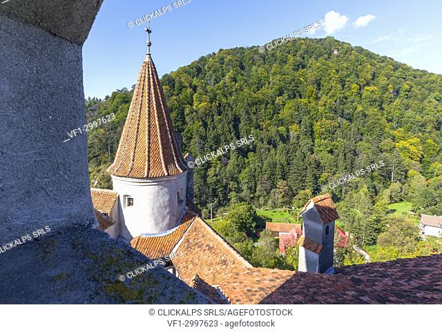 Bran Castle, Bran district, Transylvania, Romania