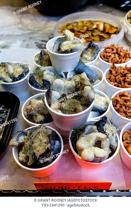 Jellied Eels For Sale At Borough Market, London Bridge Area, London, England
