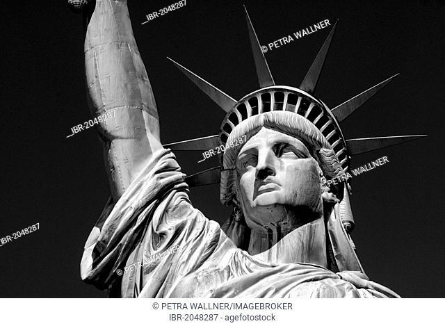 Statue of Liberty, Liberty Island, New York City, New York, United States of America