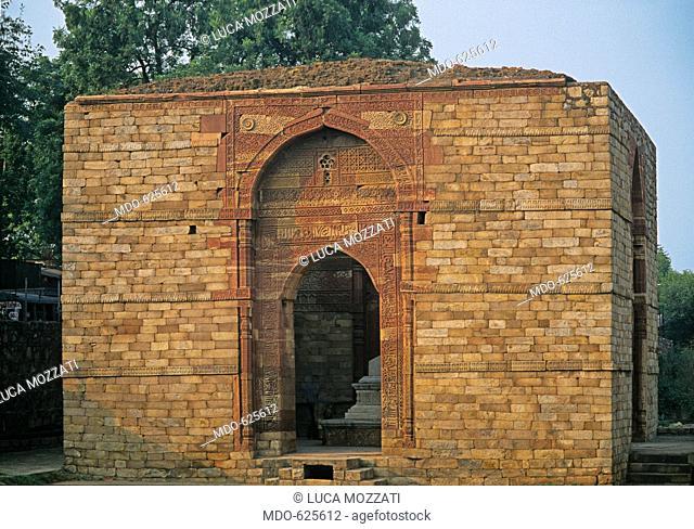 Quwwat al Islam Mosque, Mausoleum of Iltutmish, by Unknown Artist, 1235, 13th Century, . India, National Capital Territory of Dehli -NCT, Delhi, Delhi