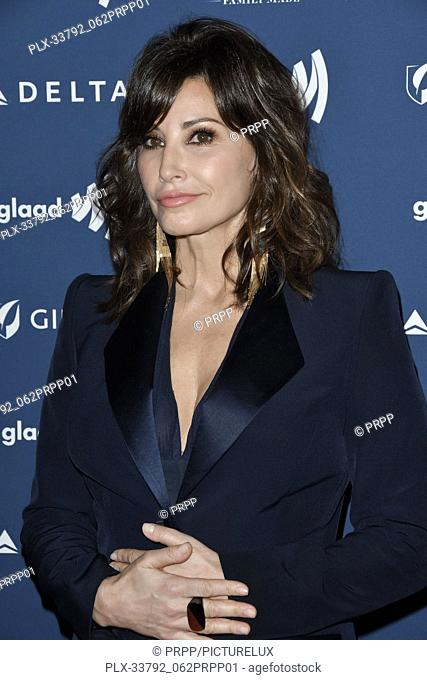 Gina Gershon at the 30th Annual GLAAD Media Awards held at the Beverly Hilton Hotel in Beverly Hills, CA on Thursday, March 28, 2019