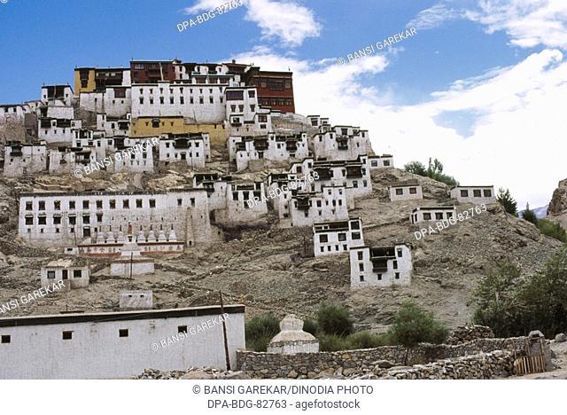 Buddhist Monastery , leh , ladakh , Jammu and Kashmir , india