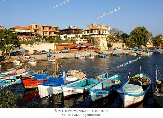 Nessebar, harbour, Bulgaria, Black Sea