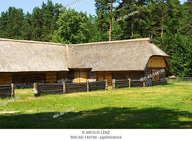 Ethnographical open-air museum Riga Latvia
