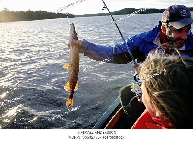 Fishing, Sweden