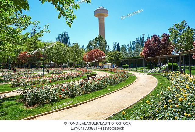 Fiesta del Arbol park in Albacete Spain at Castile La Mancha