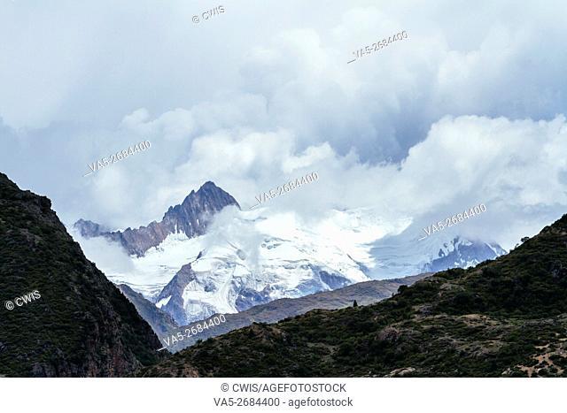 Rawu, Nyingchi, Tibet - Beautiful landscape of Laigu glacier in the daytime