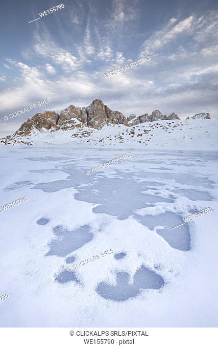 Pale di San Martino ; Dolomites ; Trento province ; Trentino Alto Adige region ; Italy ; Europe