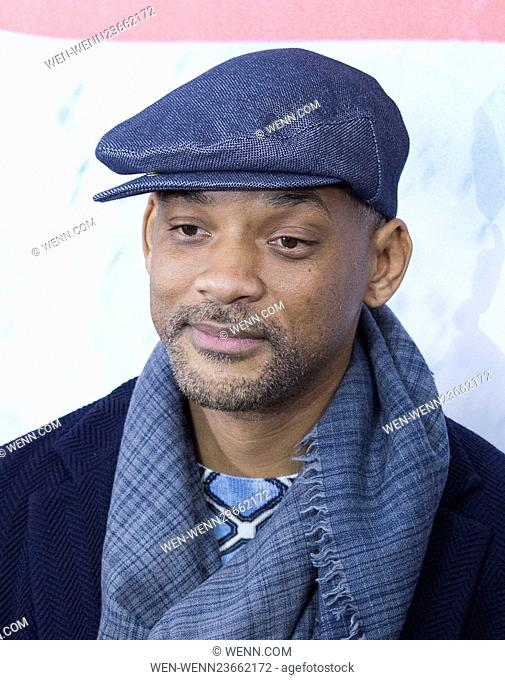 NY Premiere of Batman vs Superman Dawn of Justice Featuring: Will Smith Where: New York, New York, United States When: 21 Mar 2016 Credit: WENN.com