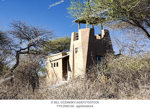 Exterior of Bush Suites at Onguma The Fort, Onguma Game Reserve, Namibia, Africa
