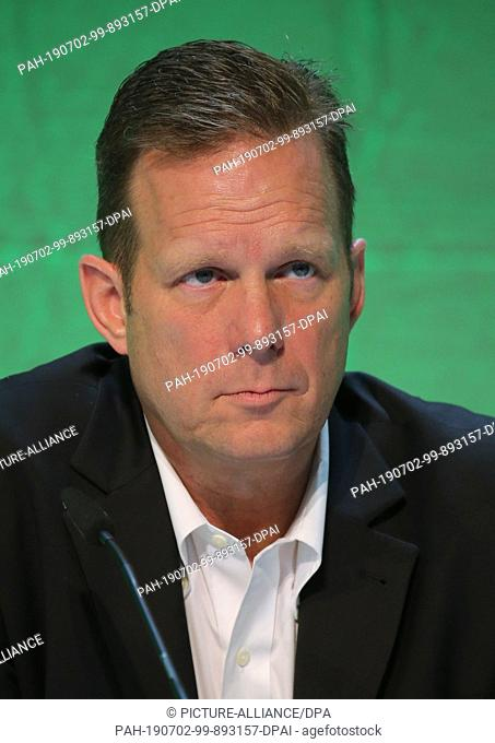 02 July 2019, Bavaria, Marktoberdorf: Rob Smith, Senior Vice President and General Manager of the EME region (Europe and Middle East)