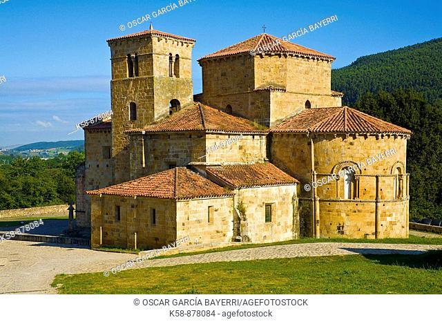 Colegiata de Santa Cruz en Castañeda; Camino de Santiago, Catabria