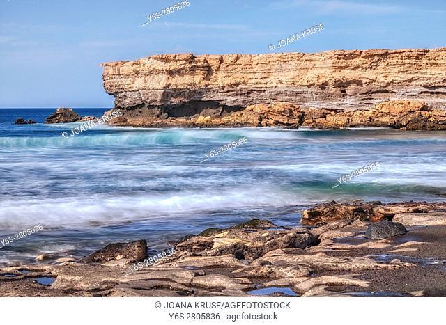 La Pared, Jandia, Fuerteventura, Canary Islands, Spain