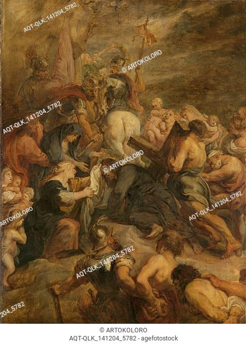 The carrying of the cross, Peter Paul Rubens, 1634 - 1637